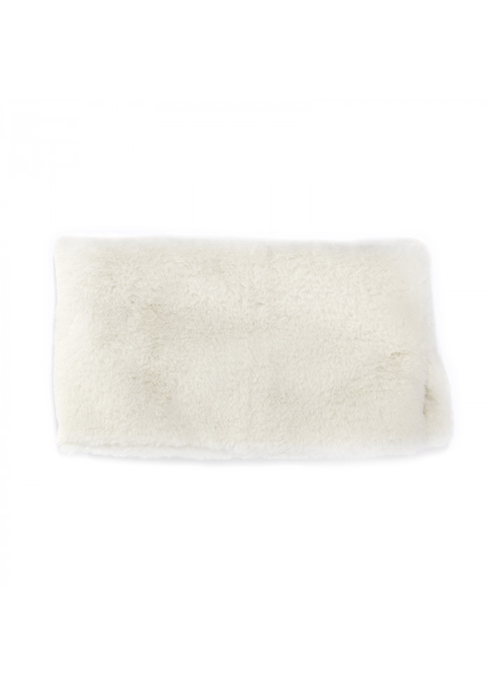 WOMEN'S ACCESSORIES COLLAR FAUX FUR WHITE OOF