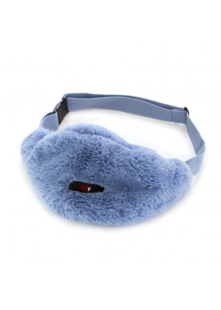 WOMEN'S BAGS POUCH BAG ECO FUR LIGHT BLUE OOF