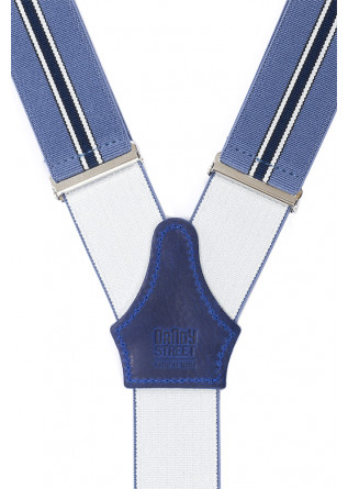 MEN'S ACCESSORIES SUSPENDERS LIGHT BLUE / BLUE DANDY STREET