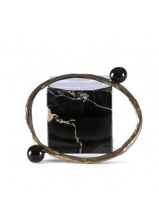 WOMEN'S ACCESSORIES HANDMADE BRACELET BLACK CERAMIC SPHERES TOLEMAIDE