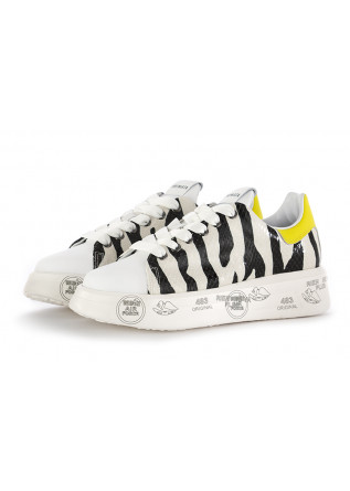 WOMEN'S SNEAKERS PREMIATA | WHITE ZEBRA LEATHER