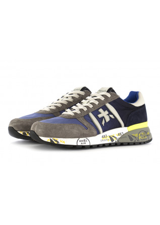 MEN'S SNEAKERS PREMIATA | SUEDE LEATHER NAVY BLUE