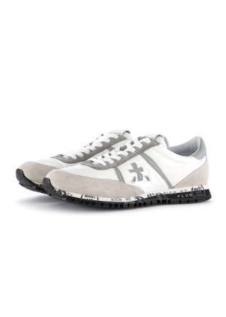 MEN'S SNEAKERS PREMIATA | WHITE GREY SUEDE