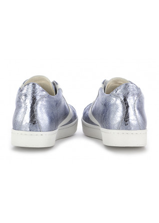 "WOMEN'S SNEAKERS VALSPORT 1920 | METALLIC GREY ""CRACK"" LEATHER"