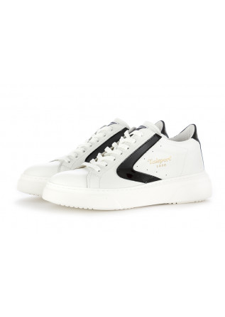 WOMEN'S SNEAKERS VALSPORT 1920 | WHITE / BLACK LEATHER