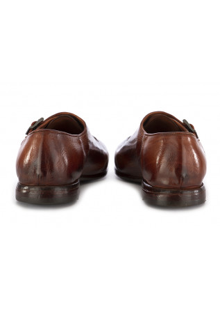 MEN'S MONK STRAP SHOES LEMARGO | COGNAC BROWN LEATHER