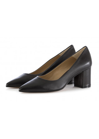 WOMEN'S PUMPS CRISPI | BLACK NAPPA LEATHER