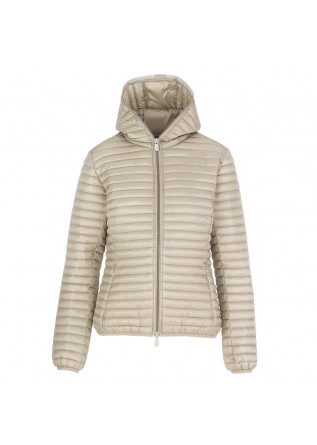 PIUMINO DONNA SAVE THE DUCK BEIGE