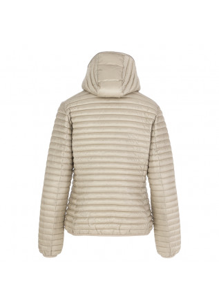 PIUMINO DONNA SAVE THE DUCK | BEIGE