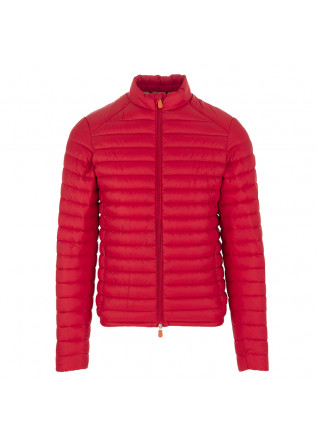 Red men's jacket Save the Duck GigaX