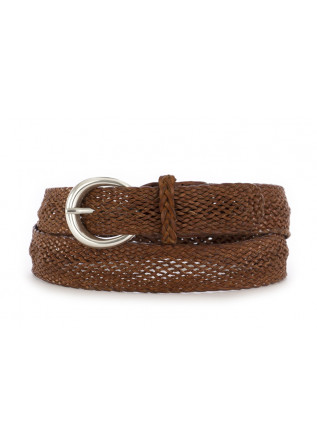WOMEN'S BELT ORCIANI MASCULINE LIGHT BROWN