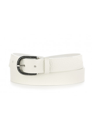 WOMEN'S BELT ORCIANI WHITE