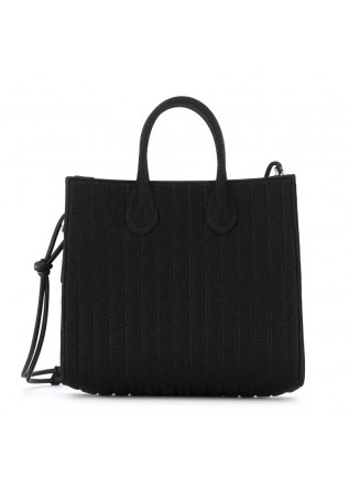 WOMEN'S SHOPPER BAG GUM CHIARINI BLACK