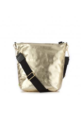 WOMEN'S BAG GUM CHIARINI | BLACK / GOLD PLEATED