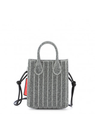 WOMEN'S MINI SHOPPER GUM CHIARINI SILVER