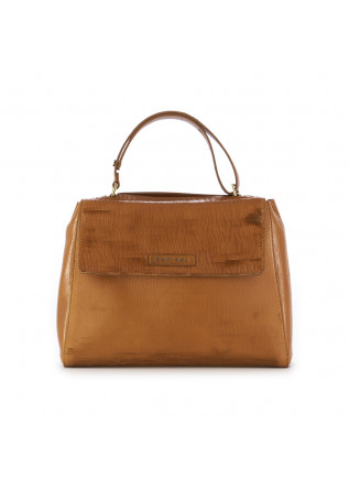 WOMEN'S SHOULDER BAG ORCIANI SVEVA LEATHER BROWN