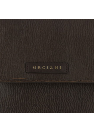 "WOMEN'S SHOULDER BAG ORCIANI ""SVEVA"" | DARK BROWN"