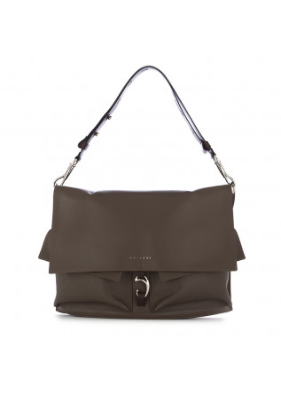 WOMEN'S SHOULDER BAG ORCIANI BROWN