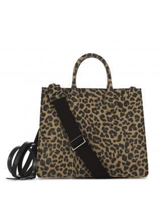 WOMEN'S SHOPPER BAG GUM CHIARINI LEOPARD