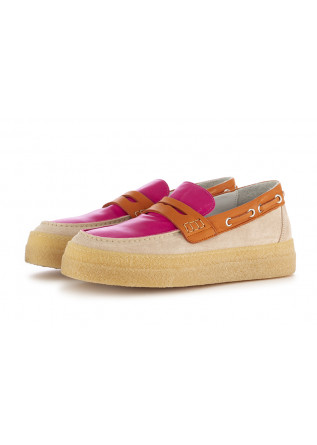 WOMEN'S LOAFERS OA NON-FASHION PINK ORANGE