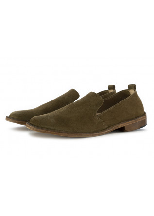 MEN'S LOAFERS ASTORFLEX OLIVE GREEN SUEDE