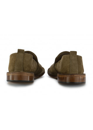 MEN'S LOAFERS ASTORFLEX | OLIVE GREEN SUEDE