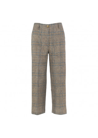 WOMEN'S TROUSERS SEMICOUTURE   BROWN / BEIGE