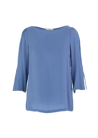 WOMEN'S SHIRT SEMICOUTURE SKY BLUE