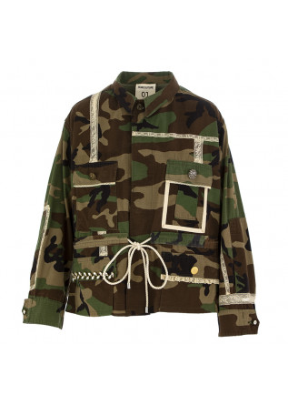 WOMEN'S JACKET SEMICOUTURE | KHAKI CAMO