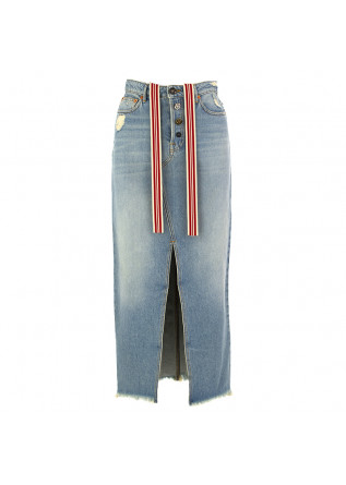 GONNA DONNA SEMICOUTURE AZZURRO DENIM
