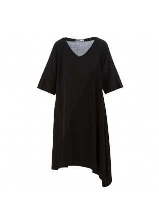 WOMEN'S DRESS BIONEUMA | BLACK ORGANIC COTTON