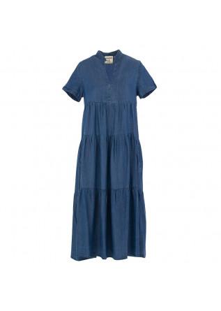 WOMEN'S DRESS SEMICOUTURE | BLUE DENIM