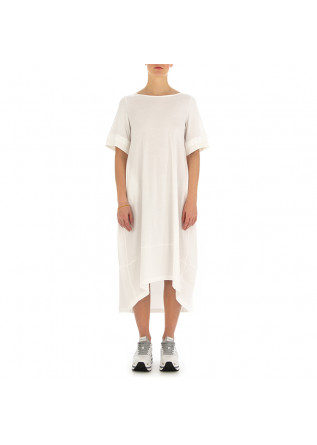 WOMEN'S DRESS BIONEUMA | WHITE ORGANIC COTTON