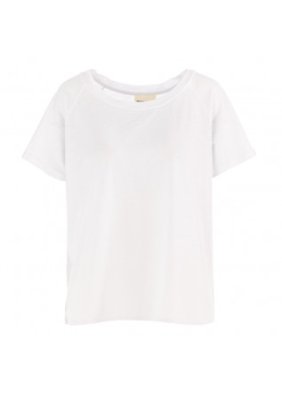 WOMEN'S T-SHIRT SEMICOUTURE WHITE