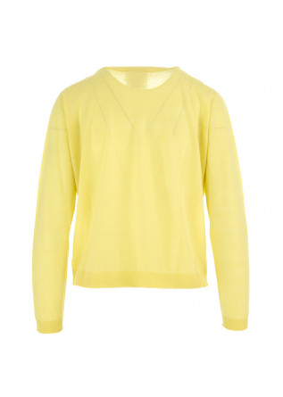 WOMEN'S SWEATER SEMICOUTURE | LIGHT YELLOW