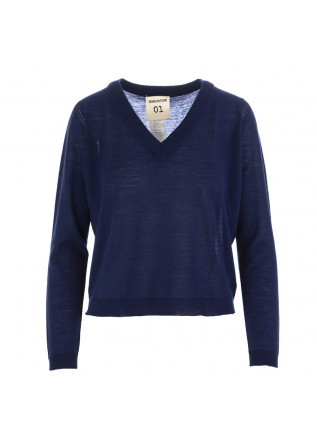 WOMEN'S SWEATER SEMICOUTURE BLUE