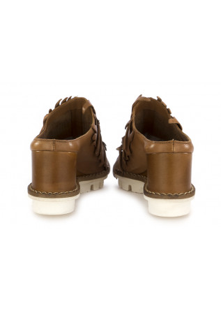 WOMEN'S SABOT PATRIZIA BONFANTI | BROWN LEATHER