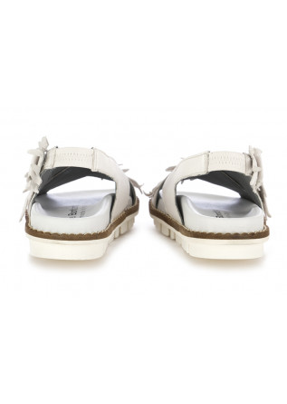 WOMEN'S SANDALS PATRIZIA BONFANTI | WHITE LEATHER