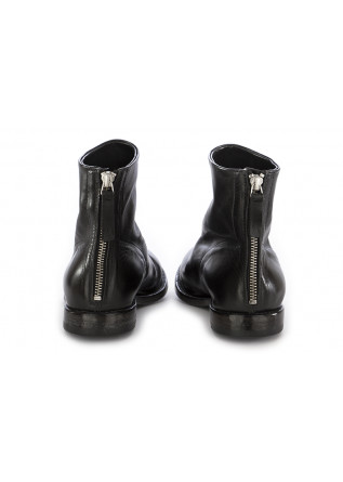 WOMEN'S ANKLE BOOTS MOMA | BLACK LEATHER