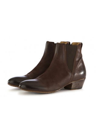 WOMEN'S ANKLE BOOTS MOMA BROWN LEATHER
