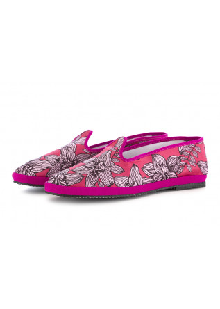 WOMEN'S FLAT SHOES MIEZ FUCHSIA