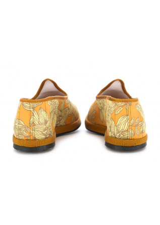 WOMEN'S FLAT SHOES MIEZ | ORANGE / FLOWERS