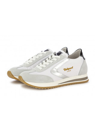 "WOMEN'S SNEAKERS ""NEW SOFT"" VALSPORT WHITE SILVER"