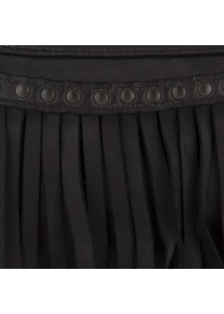 WOMEN'S SHOULDER BAG MANUFATTO ITALIANO 1956 | LEATHER BLACK