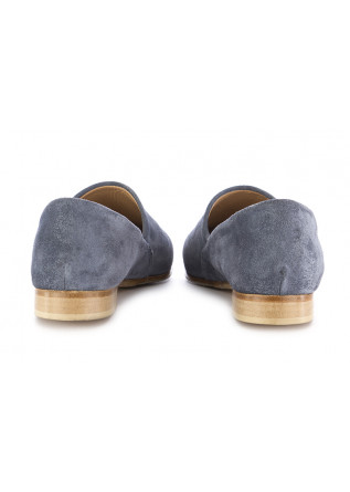 WOMEN'S FLAT SHOES KOBRA | BLUE SUEDE
