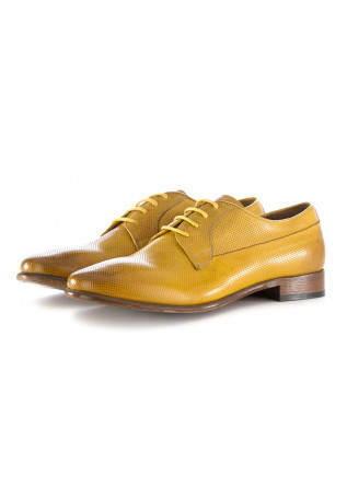 MEN'S LACE UP FLAT SHOES YELLOW TON GOUT