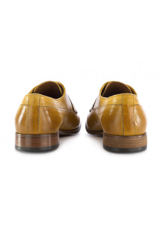 MEN'S LACE UP SHOES TON GOUT | SAFFRON YELLOW LEATHER