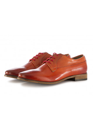 MEN'S LACE UP SHOES TON GOUT | BRICK RED LEATHER