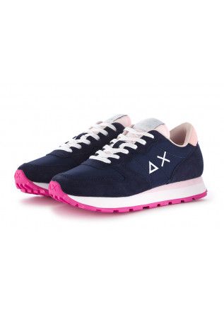 SNEAKERS DONNA SUN68 BLU NAVY ROSA