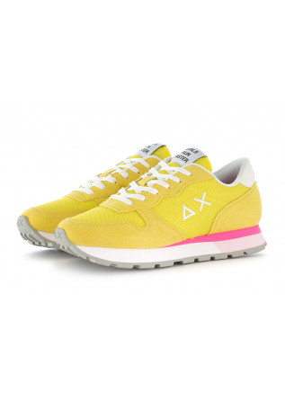 WOMEN'S SNEAKERS YELLOW WHITE FUCHSIA SUN68